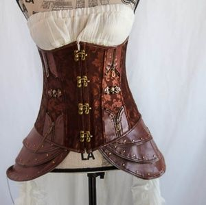 Other - Brown Steampunk Corset